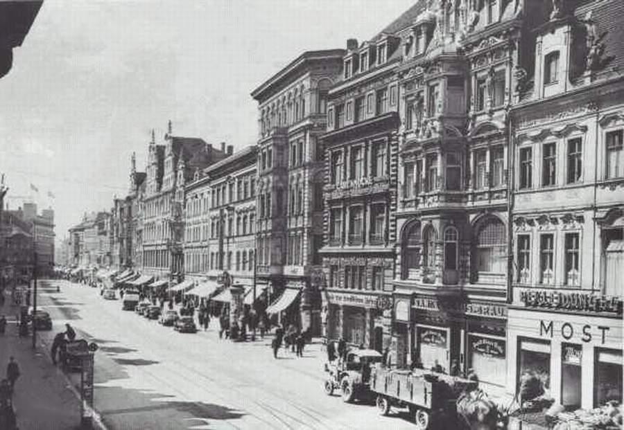 Magdeburger Chronik - der Breite Weg und andere Straßen