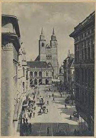 Magdeburger Chronik - Plätze der Stadt